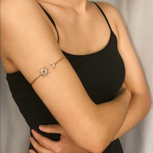 Jewelry - ✨Moon & Star gold arm cuff bracelet ✨